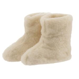 Bamsefutter råhvide 100% uld